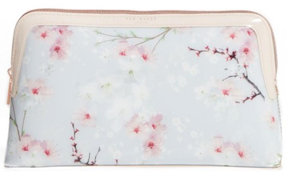 Ted Baker Large Cherry Blossom Case Cosmetic Bag