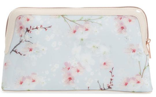Ted Baker Large Cherry Blossom Case Cosmetic Bag Image 2