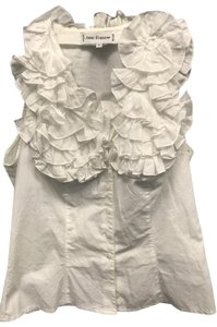 Anne Fontaine Vintage Top White