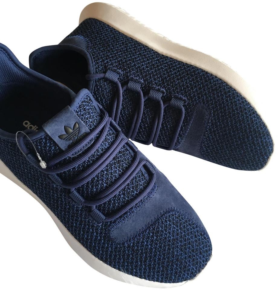 adidas Blue Women s Tubular Suede Comfy Street Sneaker Sneakers Size ... 5c2a16768c