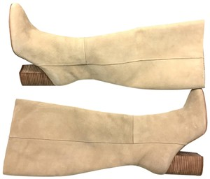 Kenneth Cole creamy almond Boots