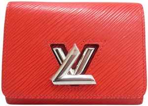 Louis Vuitton LOUIS VUITTON 2017 Epi Twist Compact Wallet