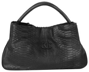 Chanel Python Boating Expandable Yacht Tote