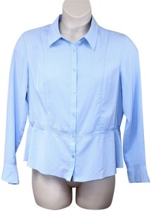 Sag Harbor Button Down Shirt Blue