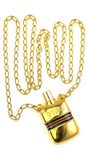 Gucci Vintage Gucci Perfume Pendant Accessory Necklace