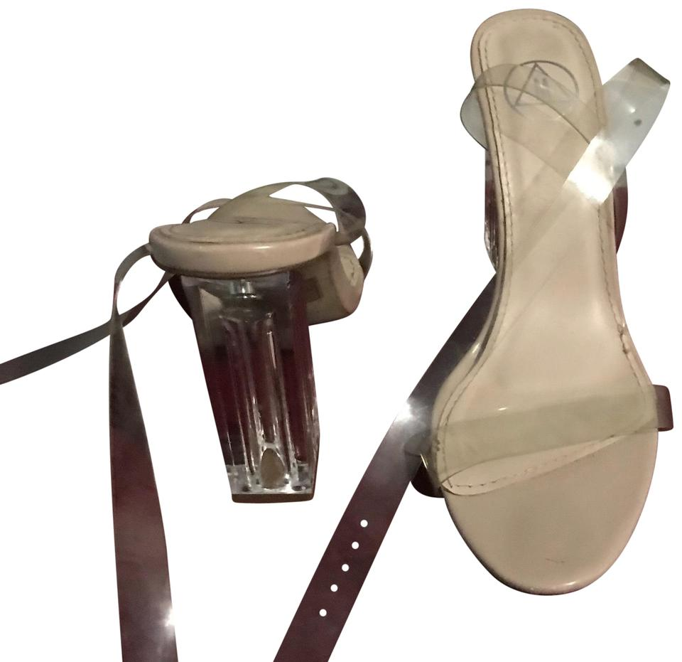07785216e30 Missguided Nude Sandals Size US 7 Regular (M