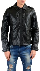 Versace Jeans Collection Leather Jacket