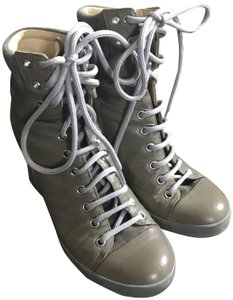See by Chloé olive green Boots