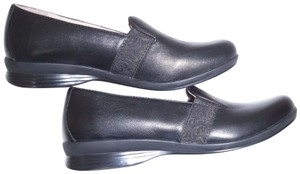 Dansko Loafers Leather Black Flats