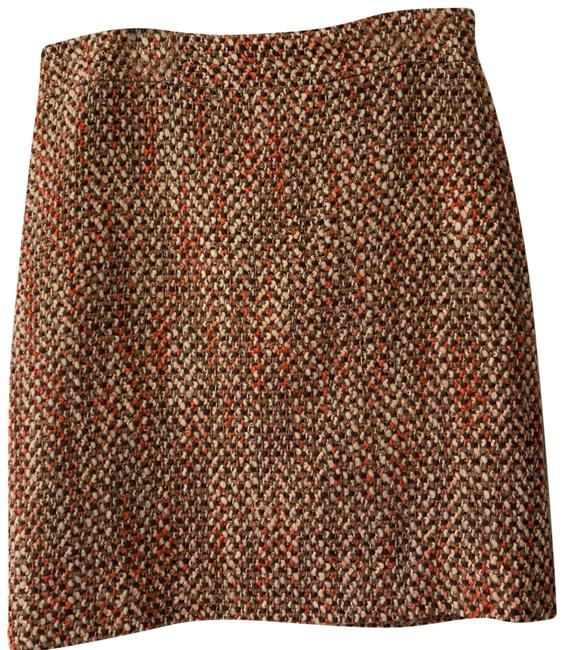 J.Crew Taupe Multiple Colors Fall/Winter Skirt Size 10 (M, 31) J.Crew Taupe Multiple Colors Fall/Winter Skirt Size 10 (M, 31) Image 1