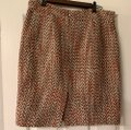 J.Crew Taupe Multiple Colors Fall/Winter Skirt Size 10 (M, 31) J.Crew Taupe Multiple Colors Fall/Winter Skirt Size 10 (M, 31) Image 2