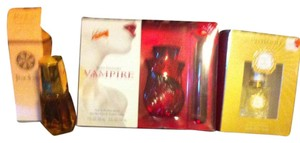 Avon 3-Peice Perfume Lot,3 BRAND NEW IN BOXES Perfumes,1 AvonTimeless,1 Faith Hill,1 Body Fantasies 2-Peice Set,Retail For All $54.97