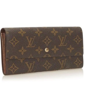 Louis Vuitton France Monogram Canvas International Porte Tresor Long Wallet