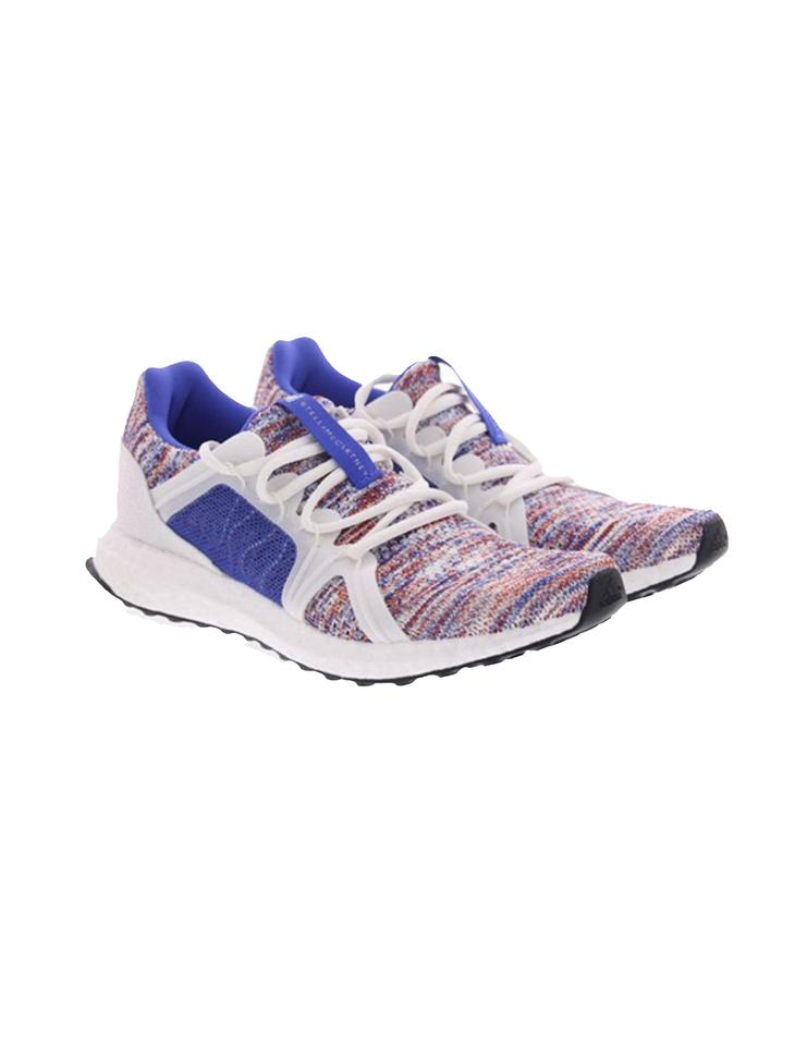c60fe5e35 adidas By Stella McCartney HI-RES BLUE   CORE WHITE   DARK CALLISTO  Athletic Image ...