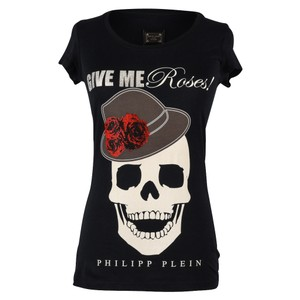 Philipp Plein Skull Diamante T Shirt Multi