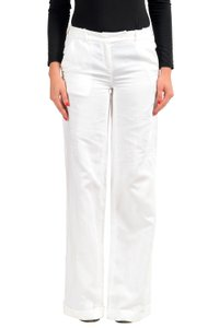 Malo Wide Leg Pants White
