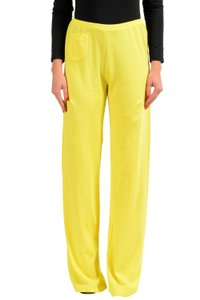 Malo Wide Leg Pants Yellow