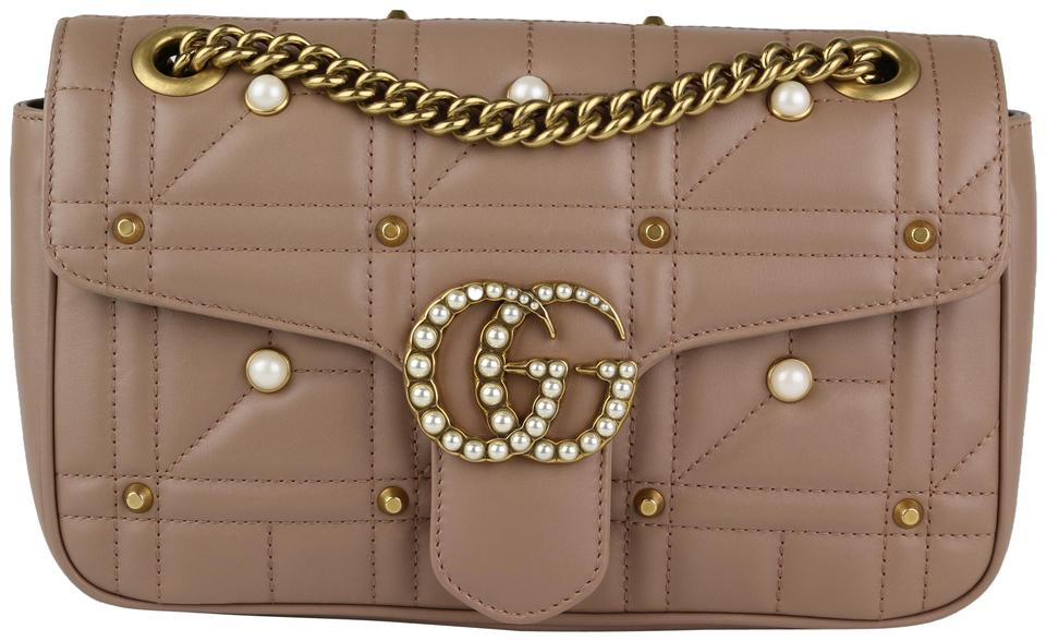 02d9ca108 Gucci Small Marmont Pearl Marmont Marmont Flap Marmont Pearl Shoulder Bag  Image 0 ...