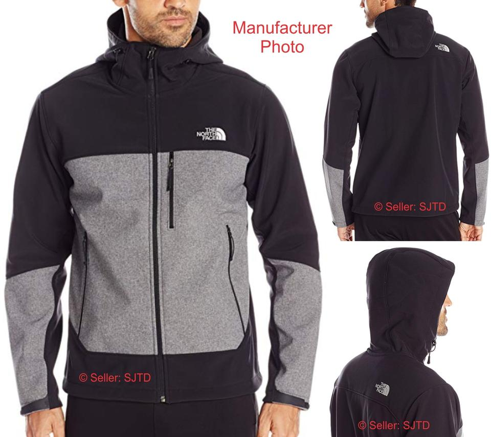 6c97c0586 The North Face Black & Gray Men's Apex Bionic Soft Shell Activewear  Outerwear Size 8 (M) 52% off retail