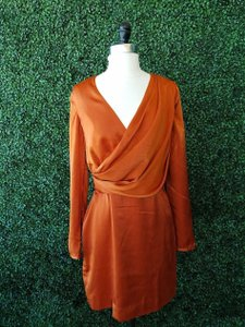 Stylestalker short dress Orange on Tradesy