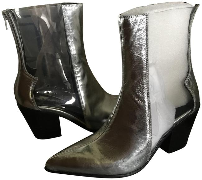 Item - Silver/Clear Silver/Clear Boots/Booties Size US 8 Regular (M, B)