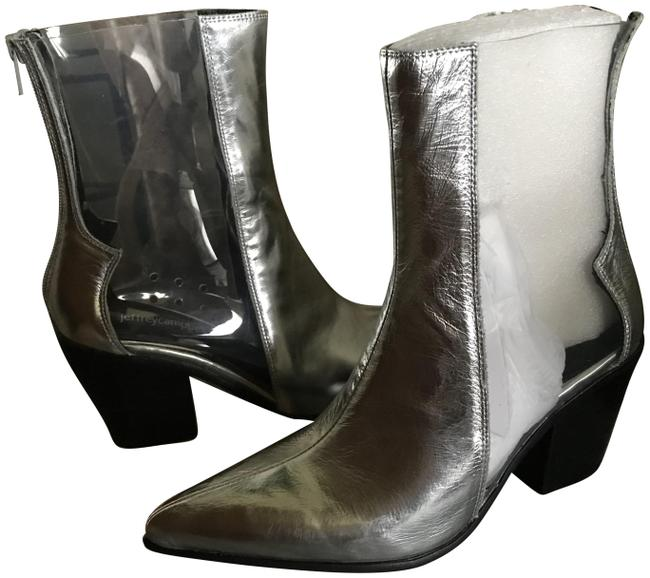 Item - Silver/Clear Silver/Clear Boots/Booties Size US 8.5 Regular (M, B)