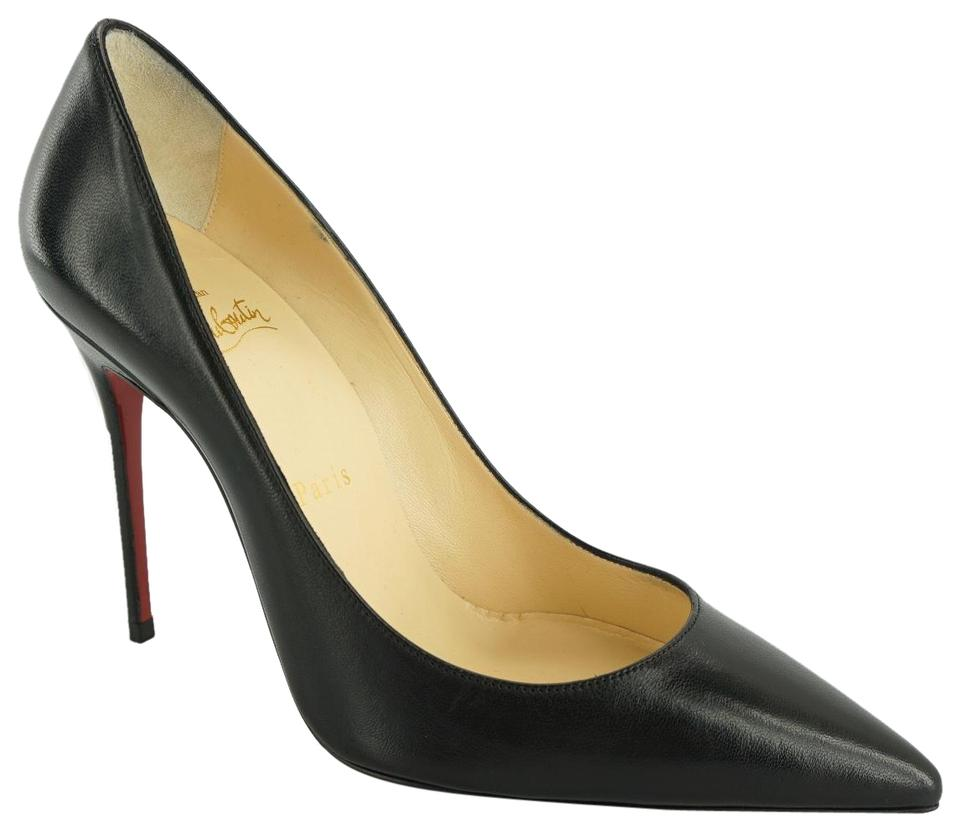 2fe35af6905 Christian Louboutin Black Leather So Kate Classic Pointy Toe High Pumps  Size EU 37 (Approx. US 7) Regular (M, B) 26% off retail
