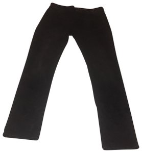 American Eagle Outfitters Straight Pants Black