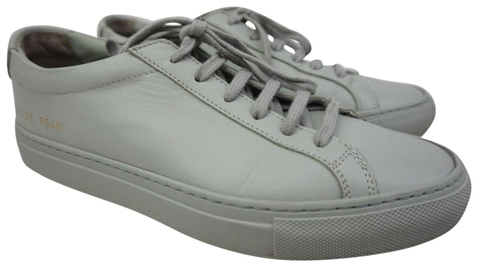 79375696fe9f Common Projects Grey Achilles Low Sneakers Sneakers. Size  EU 35 ...