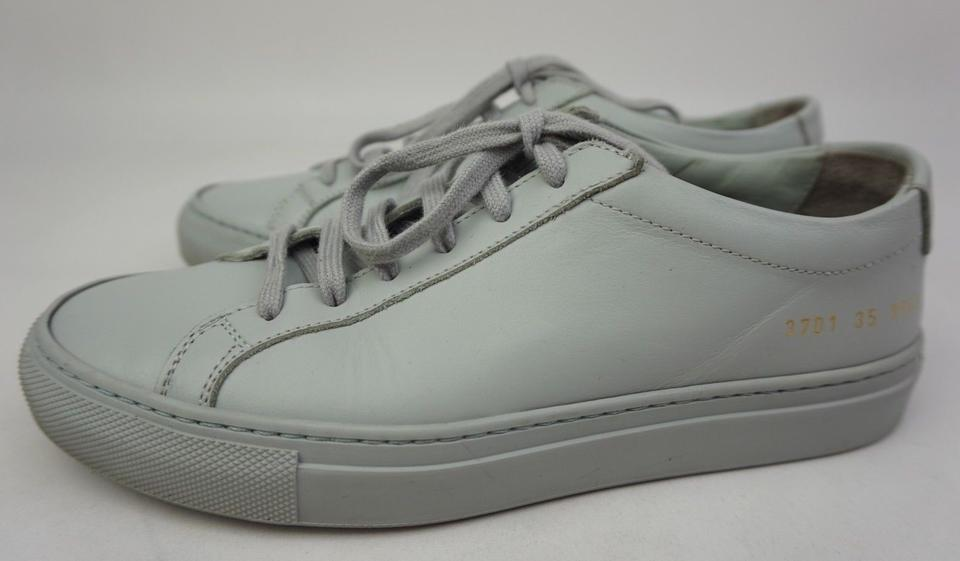 34da22c805df Common Projects Grey Achilles Low Sneakers Sneakers Size EU 35 (Approx. US  5) Regular (M