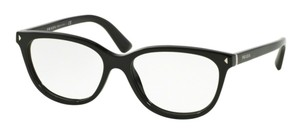 Prada New Optical Eyeglasses VPR 14R 1AB Free 3 Day Shipping Made In Italy