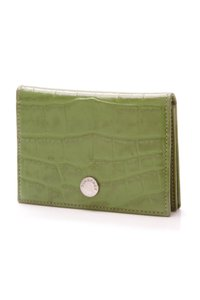 Burberry Burberry Card Holder Wallet - Alligator