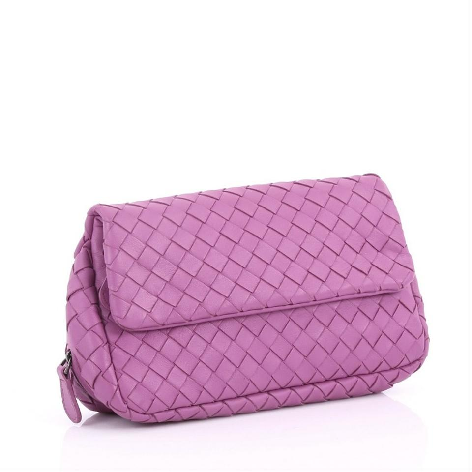 ac4184697c Bottega Veneta Expandable Chain Intrecciato Nappa Small Purple Leather  Cross Body Bag - Tradesy