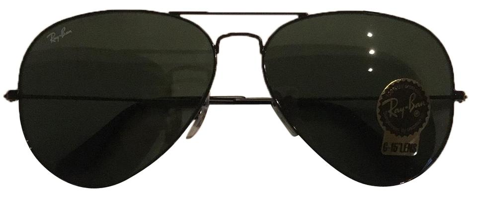 172110ab8c Ray-Ban Large Aviator G-15 Lens Sunglasses - Tradesy