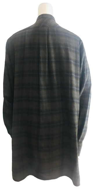 Item - Brown Plaid Short Casual Dress Size 6 (S)