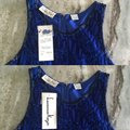 Laurence Kazar Blue Sequin Mini Dress/ Holiday Dress/ Party Dress/New Years Eve Mid-length Formal Dress Size 8 (M) Laurence Kazar Blue Sequin Mini Dress/ Holiday Dress/ Party Dress/New Years Eve Mid-length Formal Dress Size 8 (M) Image 5