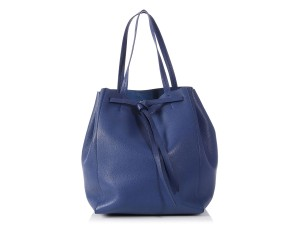 Céline Ce.p1010.10 Cavas Phantom Bucket Tote in Blue