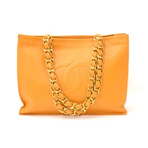 Chanel Tote in Orange