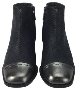 Henry Beguelin Metallic Black and pewter Boots
