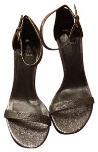 Stuart Weitzman Dark Silver Formal