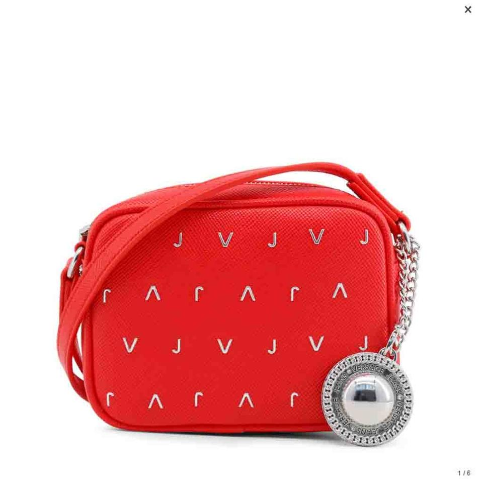 88e2ff31b505 Versace Jeans Collection Red Faux Leather Cross Body Bag Tradesy