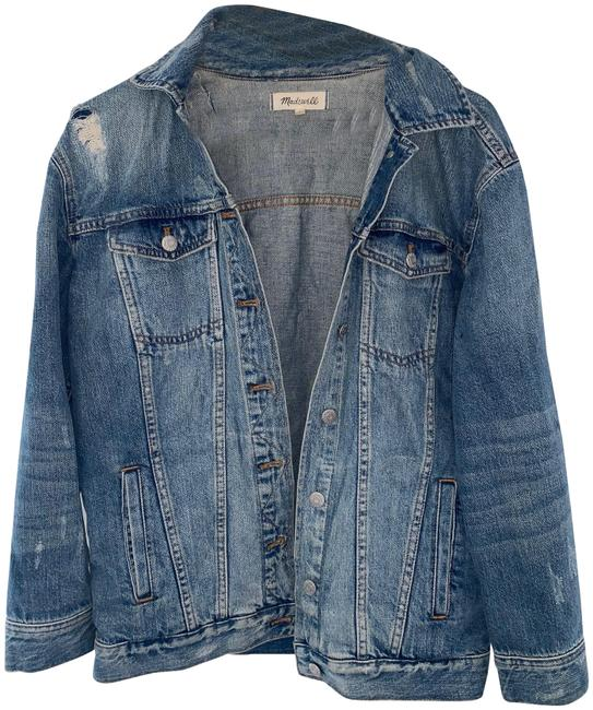 Item - Denim Oversized Jean In Jessie Wash Jacket Size 4 (S)