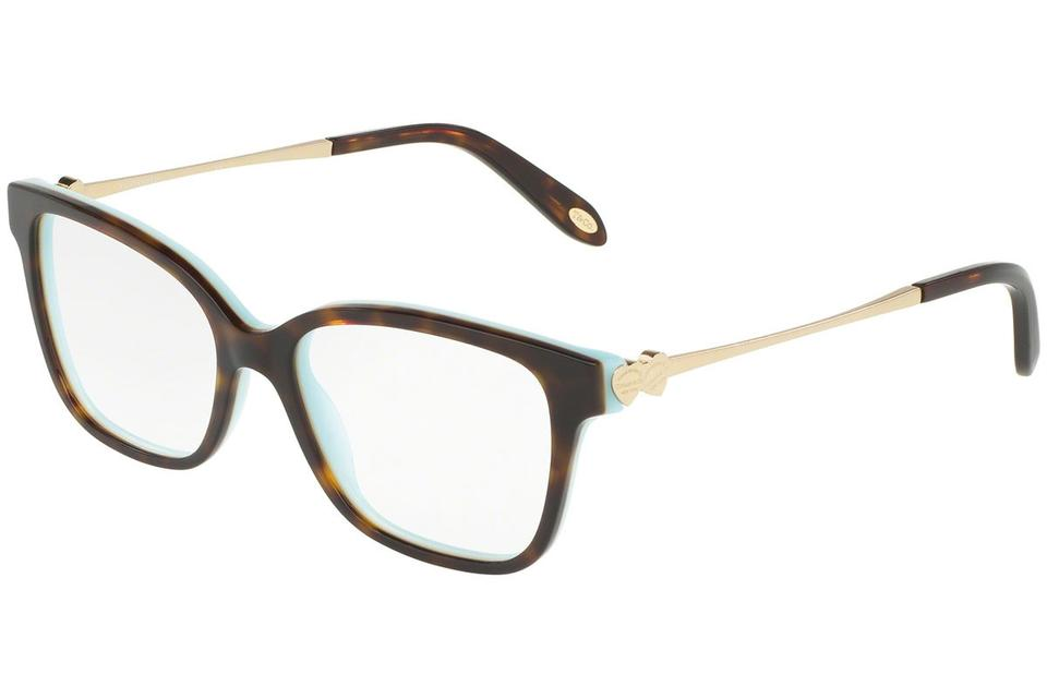 ae5efdfe40 Tiffany   Co. Black Blue Tf2141 8134 Rx Prescription Frames 50mm Italy  Sunglasses
