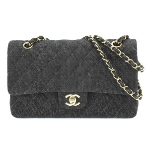 Chanel Denim Vintage Rare Limited Edition Shoulder Bag
