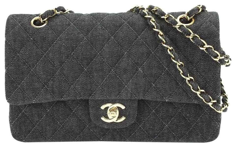 46eba5e5731a Chanel Classic Flap 2.55 Reissue Vintage Classic Quilted Rare Dark ...