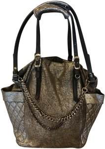 Jimmy Choo Metallic Chains Hobo Bag