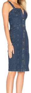 AG Adriano Goldschmied short dress Denim on Tradesy