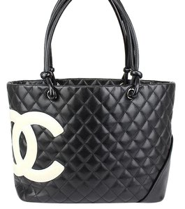 63c8056852 Chanel Cambon Tote - Up to 70% off at Tradesy