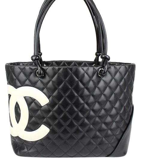 Preload https://img-static.tradesy.com/item/24310420/chanel-cambon-ligne-quilted-with-cc-dustbag-black-calfskin-leather-tote-0-6-540-540.jpg