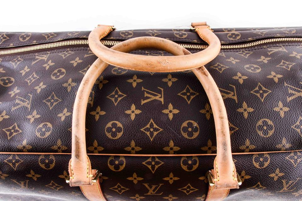 3548accd9757 Louis Vuitton Sirius Monogram 70 Soft Sided Suitcase Brown Coated Canvas  Weekend Travel Bag - Tradesy